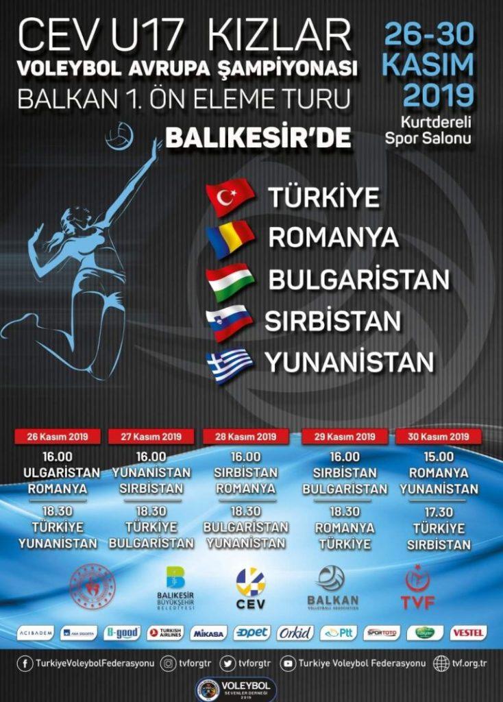 Turcii sunt pregătiți să găzduiască turneul balcanicde calificare la Campionatul European Under 17