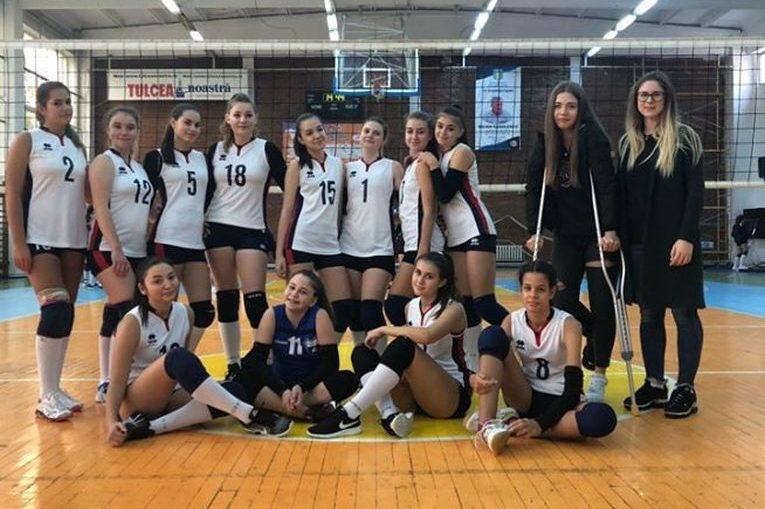 Echipa de cadete CSS 1 Constanța după etapa a treia a campionatului 2019/ 2020