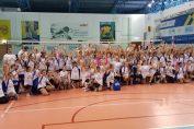 Bucuria copiilor la finalul celei de-a doua editii a Festivalului de Baby Volei