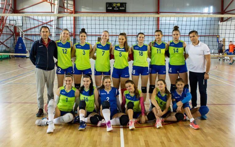 Echipa de junioare CTF Mihai I pentru campionatul 2019/ 2020