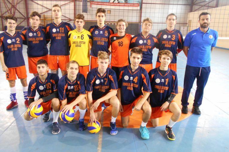 Echipa de juniori ProVolei Arad pentru campionatul 2019/ 2020