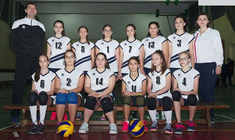 Echipa feminină de sperante CSS Galati pentru sezonul 2019/ 2020