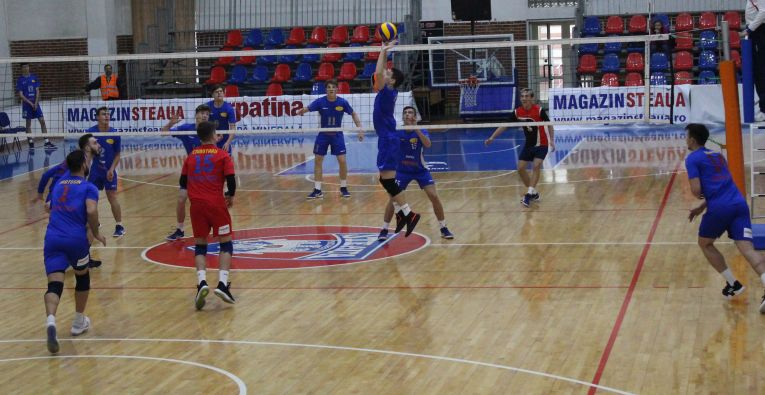 Tudor Constantinescu romanian setter Steaua Bucharest volleyball team