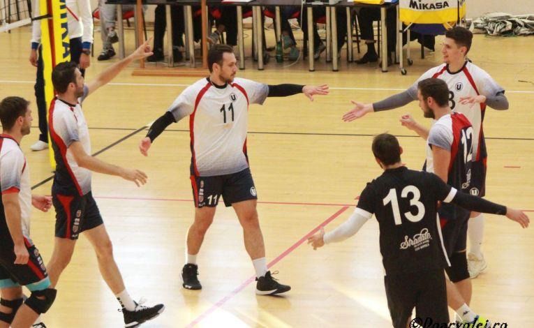 Universitatea Cluj a obținut prima victorie din campionat