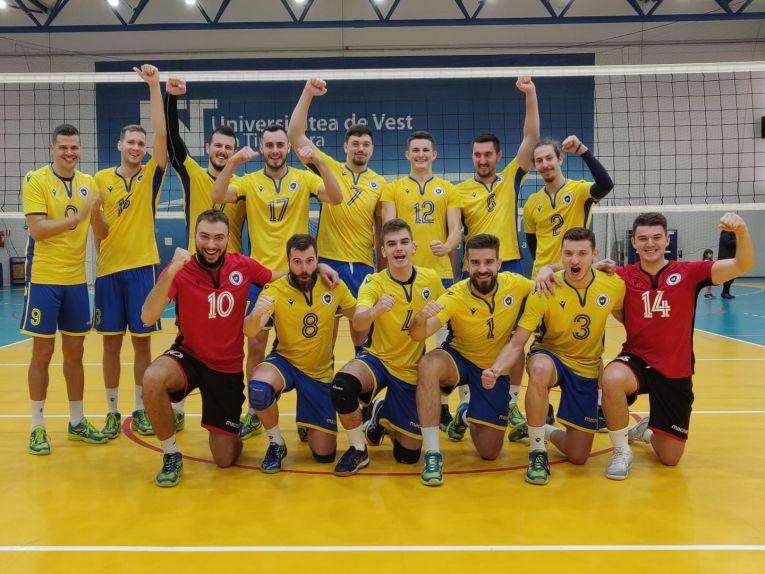 UV Timișoara a obținut prima victorie din campionat