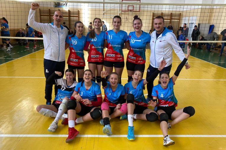 Echipa de junioare Bravol Brașov după etapa a cincea a campionatului de junioare 2019/ 2020