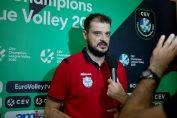 Sergiu Stancu, antrenorul anului in voleiul românesc, la interviuri