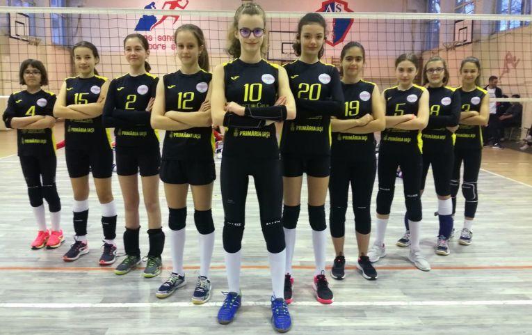 Echipa feminină de speranțe HV Junior Iași, la cel de-al doilea turneu al campionatului 2019/ 2020