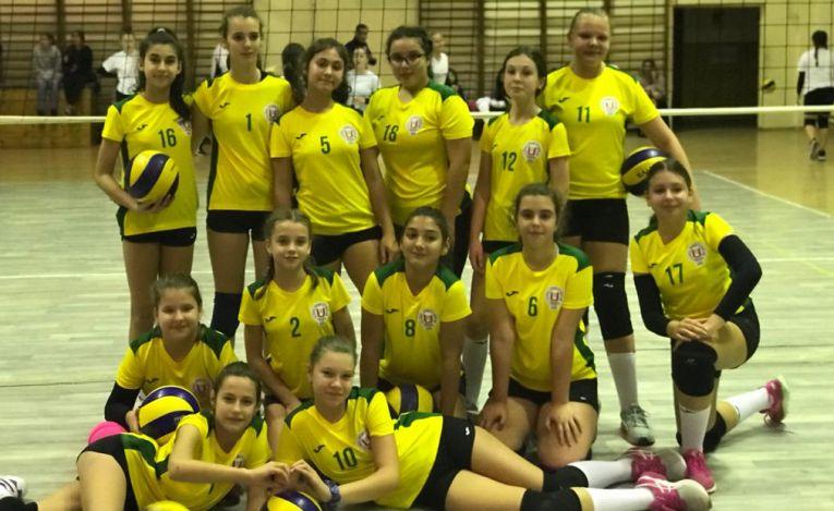 Echipa feminină de speranțe CSS Unirea Iași, la cel de-al doilea turneu al campionatului 2019/ 2020
