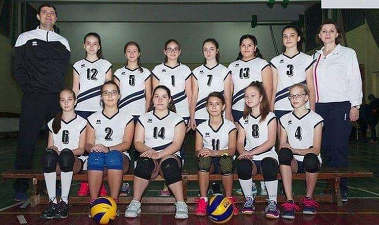Echipa feminină de speranțe CSS Galați din campionatul 2019/ 2020