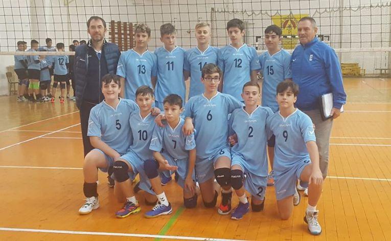 Echipa masculină de speranțe a CTF Mihai I, la cel de-al doilea turneu al campionatului 2019/ 2020