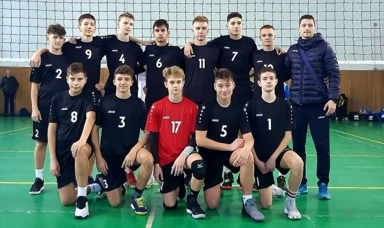 Echipa masculină de speranțe LAPI Dej in turneul etapei a doua a campionatului 2019/ 2020