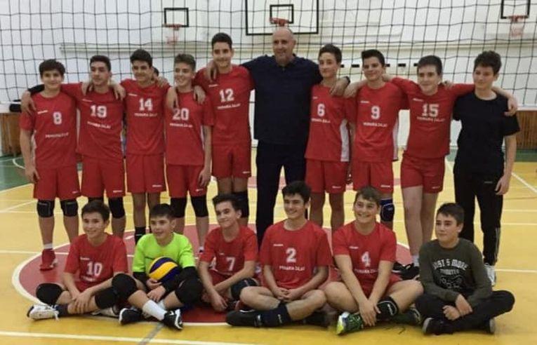 Echipa masculină de speranțe AV Lazăr Marius Zalău in turneul etapei a doua a campionatului 2019/ 2020