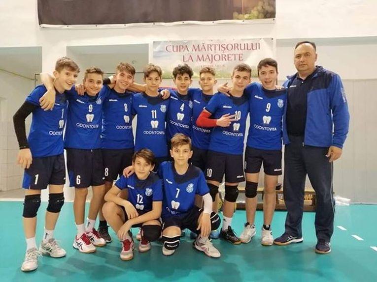 Echipa masculină de speranțe CSS Ocna Mureș II in turneul etapei a doua a campionatului 2019/ 2020