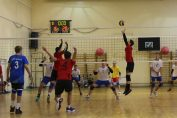 Tudor Constantinescu, the setter or romanian junior volleyball champions, CTF Mihai I