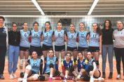 Poza de grup a formatiei de cadete CSM Bucuresti după etapa a sasea a campionatului