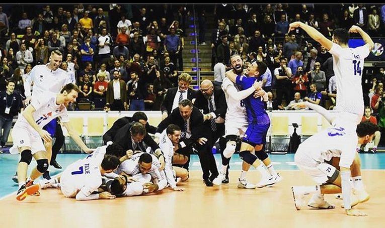 Bucuria francezilor după calificarea la Jocurile Olimpice Tokyo 2020