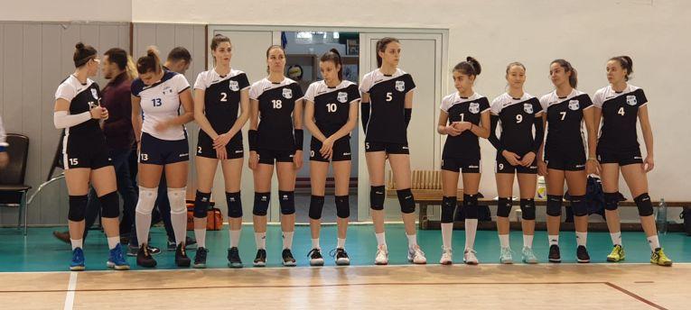 Echipa de junioare Medicina Târgu Mureș în etapa a șaptea a campionatului 2019/ 2020