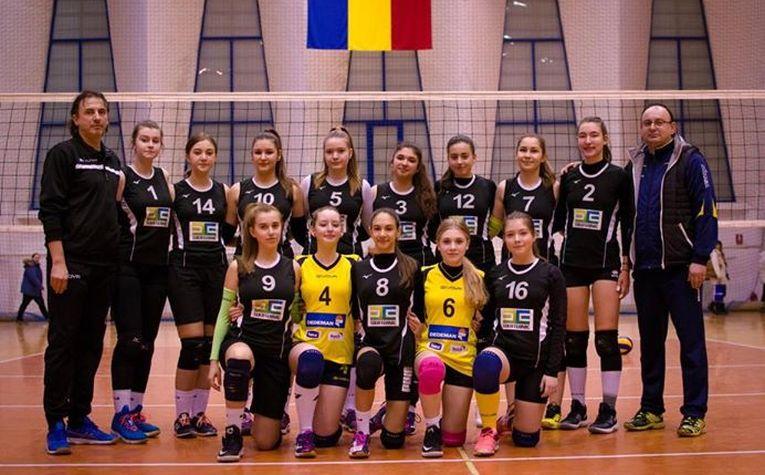 Echipa de cadete CSS Bacău