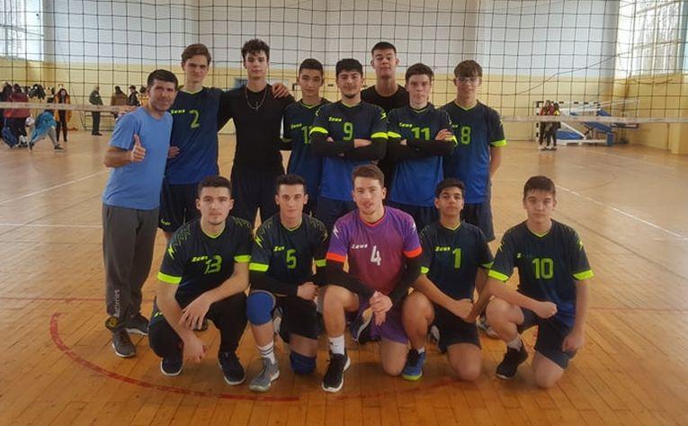 Echipa de cadeți LPS Bihorul Oradea, după penultima etapă a campionatului