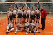 Bucuria dinamovistelor după victoria în fața formației CSM Bucuresti