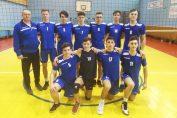 Echipa de juniori CSS Botoșani, după meciul din penultima etapă a campionatuluide volei