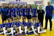 Echipa de cadete CS Medgidia, dupa meciul din ultima etapă a campionatului