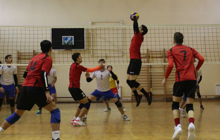 Tudor Constantinescu, romanian setter of volleyball junior teamCTF MIhai I