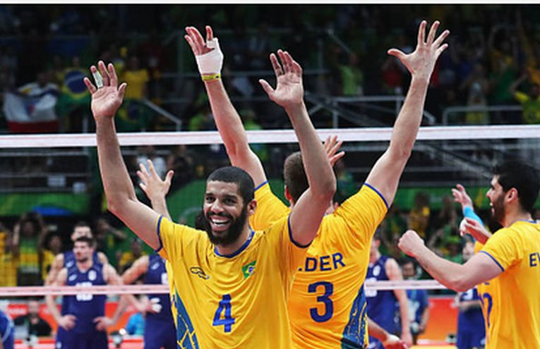 Wallace de Souza este unul dintre cei mai valoroși jucători de volei din Brazilia
