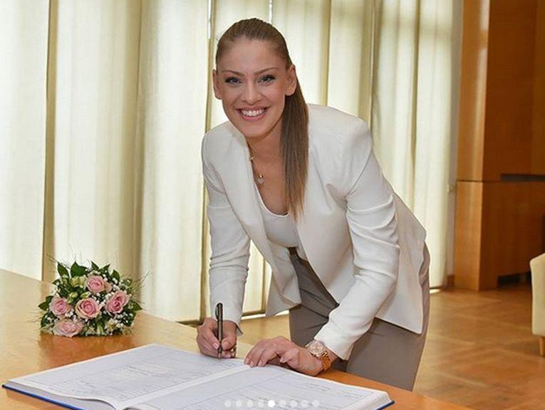 Katarina Jovanovic și momentul în care a devenit doamna Milincic