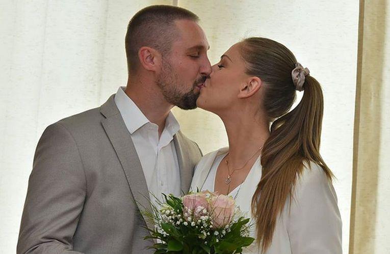 Voleibalista Katarina Jovanovic s-a căsătorit la 6 iunie