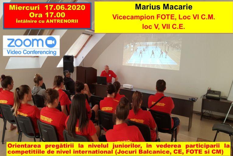 Marius Macarie și temele prezentate de el