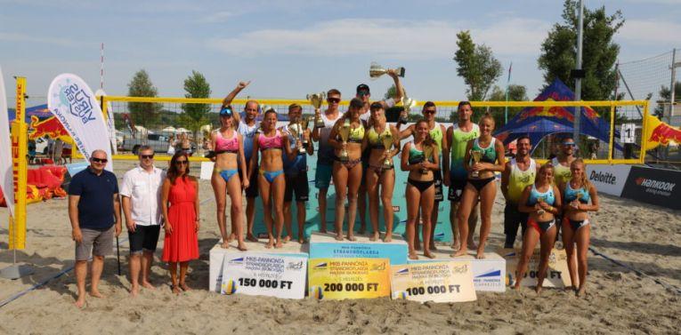 Beata Vaida și partenera ei, pe primul loc în campionatul de volei pe plajă al Ungariei