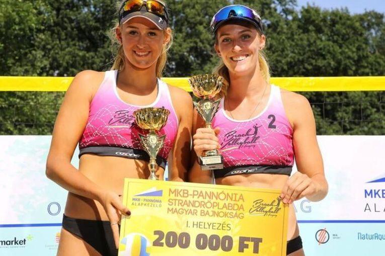 Beata Vaida și partenera ei au primit și 200.000 de forinți, în jur de 600 de euro