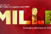 Busto Arsizio a scos la vânzare 1.000 de abonamente