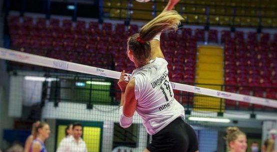 Adelina Ungureanu în atac pentru Cuneo