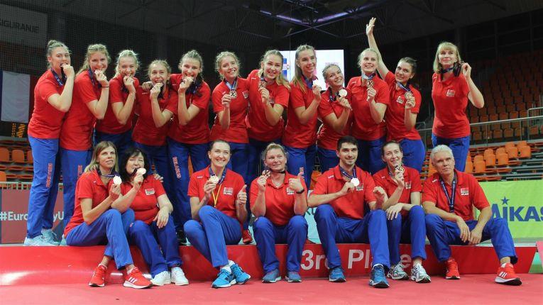 Naționala din Belarus a cucerit a doua medalie de bronz din istorie la Europenele Under 19