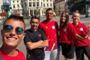 Delegația României la Campionatele Europene de volei de plajă Under 20
