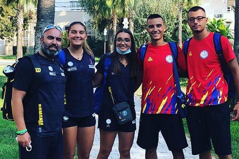Delegația României la Campionatele Europene Under 18