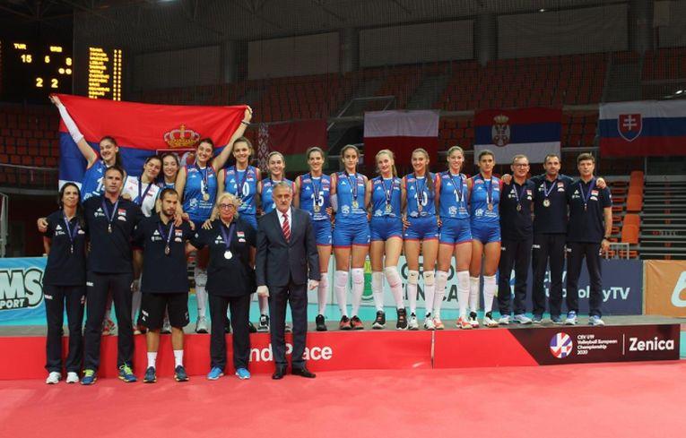 Naționala Serbiei a obținut argintul la Europeanul U19