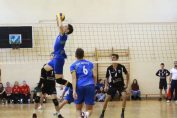 Tudor Constantinescu seter of romanian junior volleyball team CTF Mihai I
