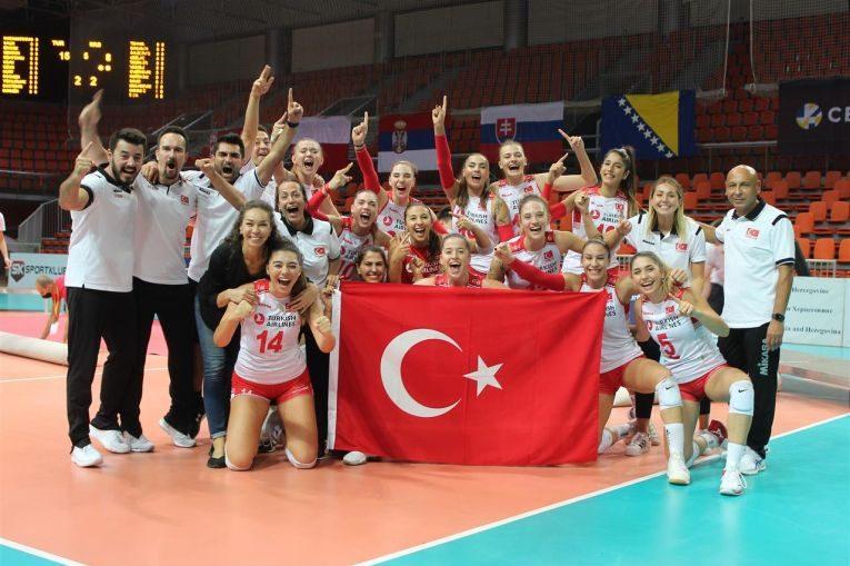 Turcia a cucerit pentru a doua oară titlul de campioana europeana U19