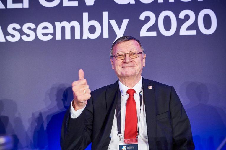 Aleksandar Boricic a fost reales președintele CEV