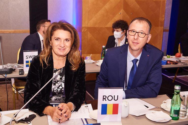Adin Cojocaru și Oana Sârb au reprezentat România la Adunarea Generală a CEV