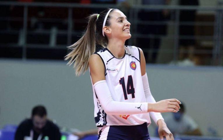 Alexia Căruțașu este una dintre cele mai în formă jucătoare din campionatul Turciei