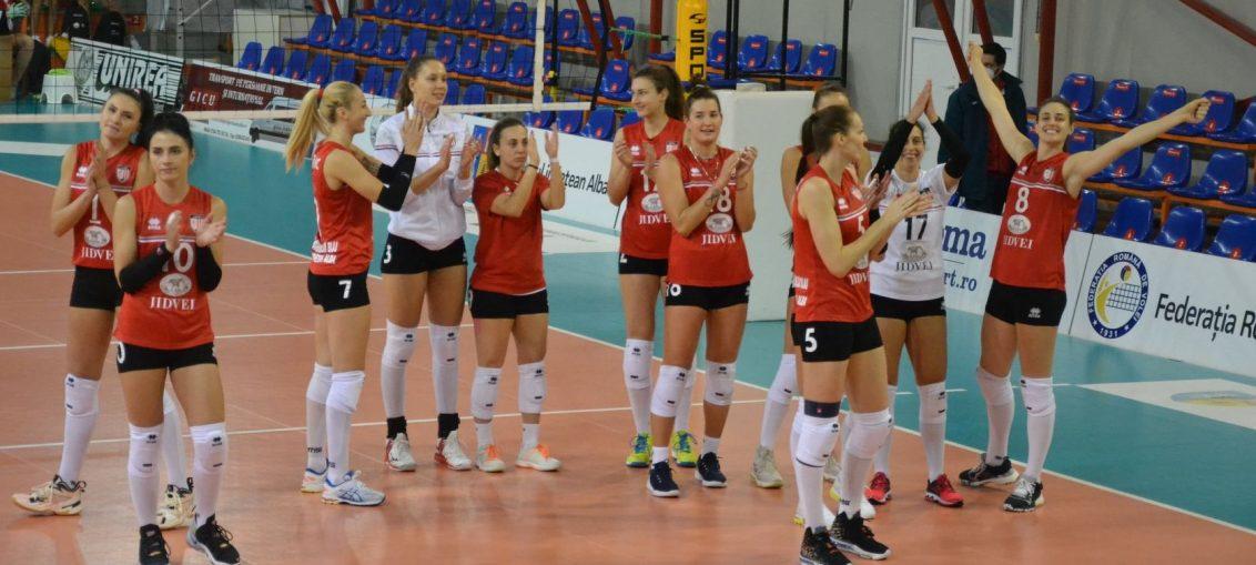 Volei Alba Blaj a câștigat ambele meciuri disputate în primul turneu al campionatului Diviziei A1