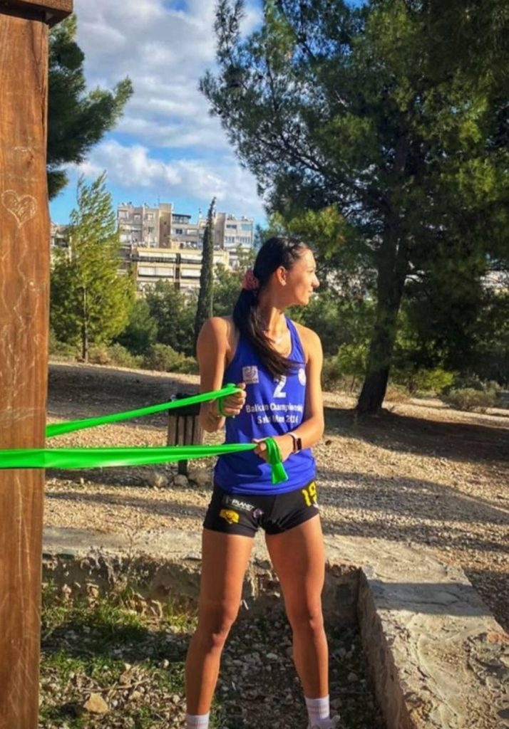 Ariana Pîrv va face antrenamente în parc până în decembrie