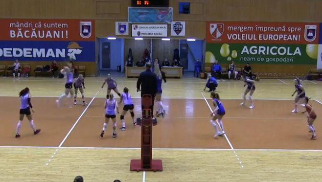 Imagine din timpul meciului Știința Bacău - FC Argeș