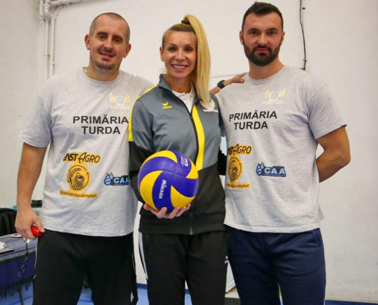 Cristina Pîrv, alături de Bogdan Tănase și de Vlad Toma