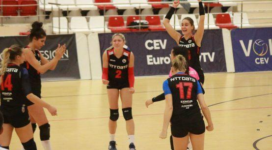 Bucuria clujencelor după victoria obținută în fața celor de la Belor Galați